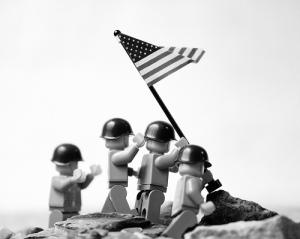 Iwo Jima lego