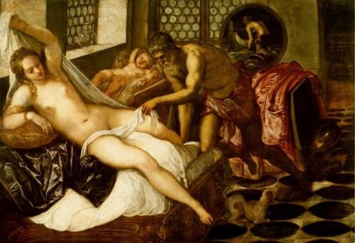 Tintoretto. Venus, Mars and Vulcan