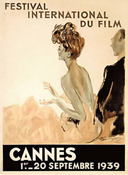 Affiche Cannes 1939