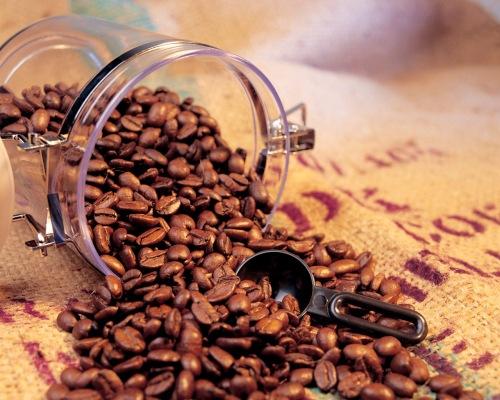 crash of coffee jar