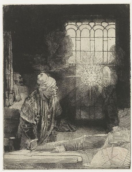 Rembrandt. Faust