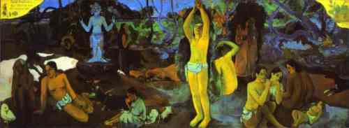Paul Gauguin. D'où venonsnous? Que sommes-nous? Où allons-nous?