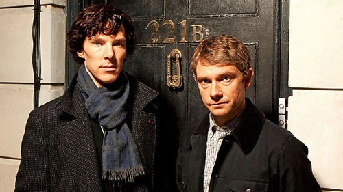 Sherlock Holmes and Dr John Watson. Sherlock. BBC One