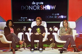 Candidates. De Grote Donorshow. BNN. Netherlands. 2007-2008
