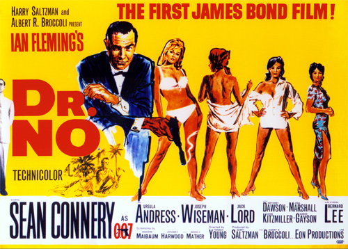 James Bond. Dr No poster