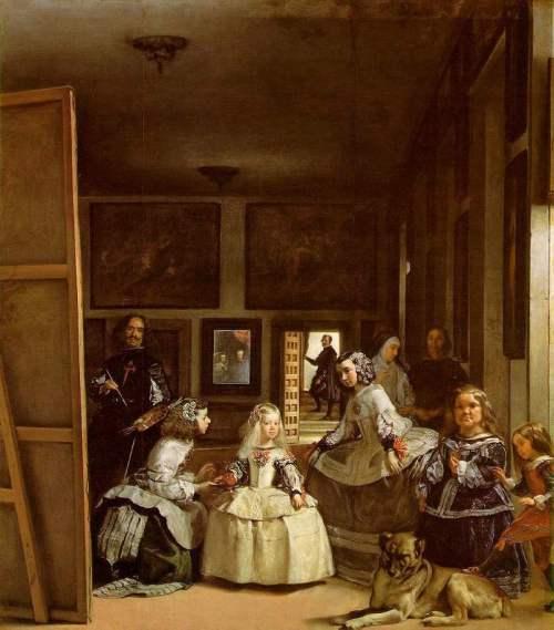 Diego Velázquez. Las Meninas. 1656. Museo del Prado