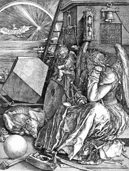 Albrecht Durer. Melencolia I. 1514. Engraving