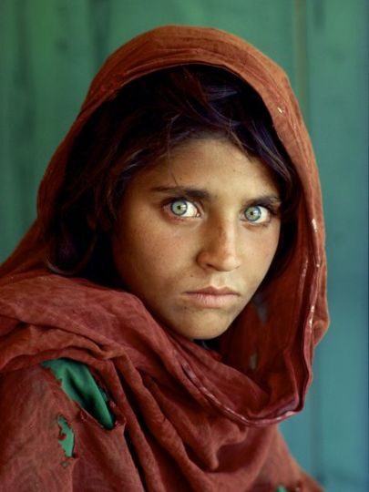 Afghan Girl. Steve McCurry. National Geographic Magazine. June, 1984