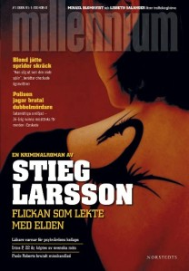 Stieg Larsson. The Girl Who Played with Fire. First Swedish edition