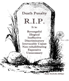 R. I. P. death penalty