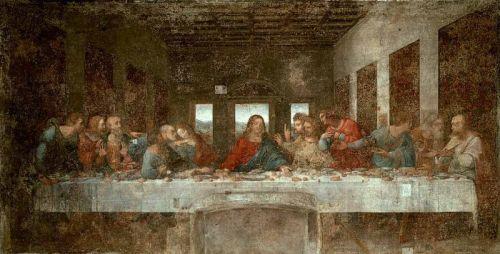 Leonadro da Vinci. The Last Supper