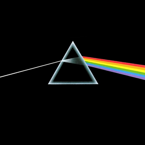 "Pink Floyd. ""The Dark Side of the Moon"". Album cover"