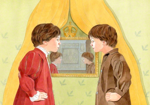 Mark Twain. The Prince and the Pauper. Patrizia Donaera's illustrations.