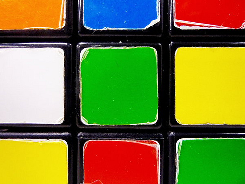 Old Rubik's Cube