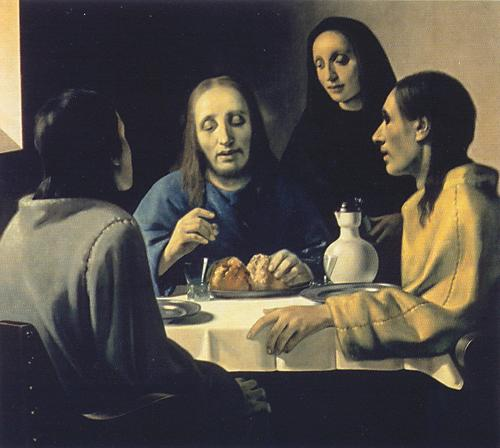 The Supper at Emmaus. Han van Meegeren. 1936