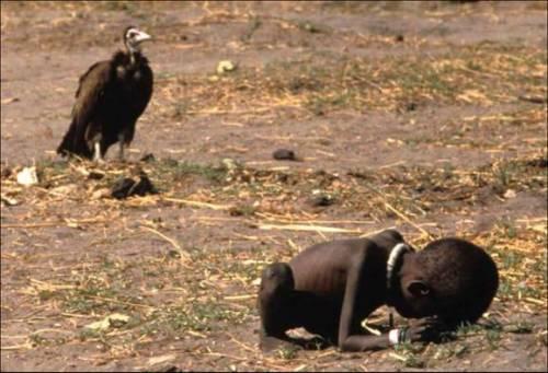 Kevin Carter. Famine in Sudan