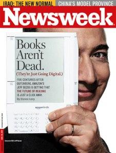 ასე იწყებოდა Kindle. Newsweek. 2007 წელი.