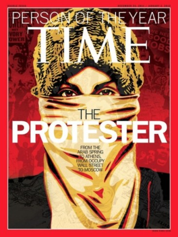 Time - Protesters