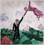 Marc Chagall. The Promenade