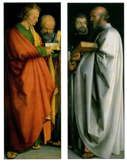 Albrecht Durer. The Four Apostles. 1526. Alte Pinakothek, Munich