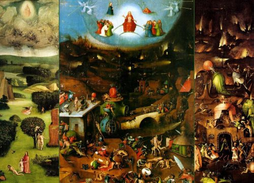 Hieronymus Bosch. The Last Judgment