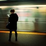 reading in tube