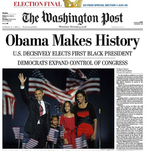 The Washington Post front page
