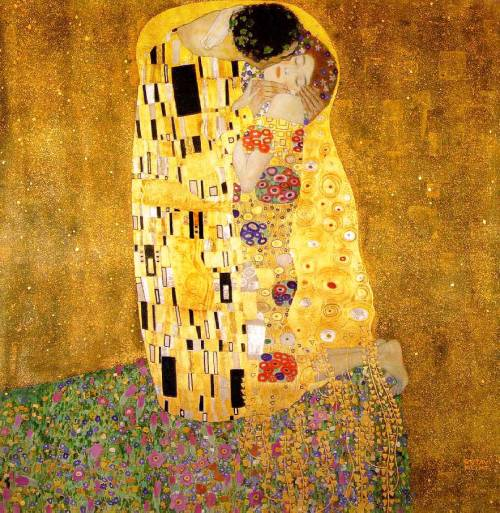 Gustav Klimt. The kiss