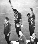 olympics black power salute