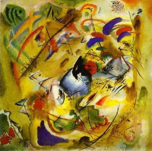 Wassily Kandinsky. Dreamy Improvisation