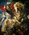 Peter Paul Rubens. Saint George and the Dragon