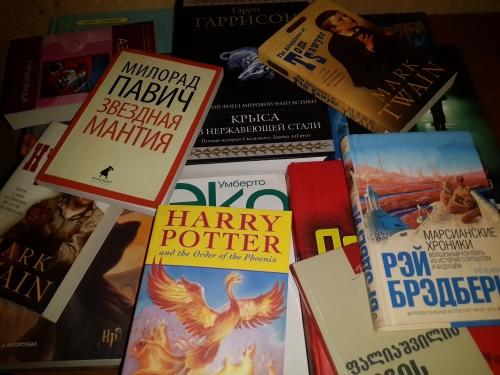 წიგნები, რომლებიც მაჩუქეს <3