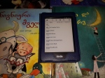 my kindle and books
