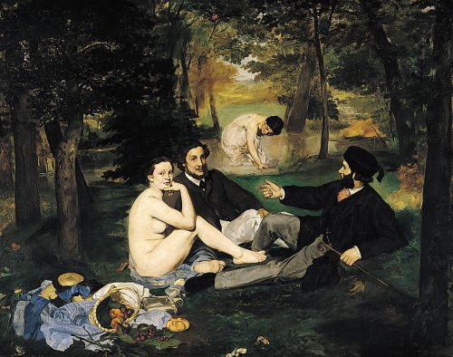 Édouard Manet. The Luncheon on the Grass. 1863