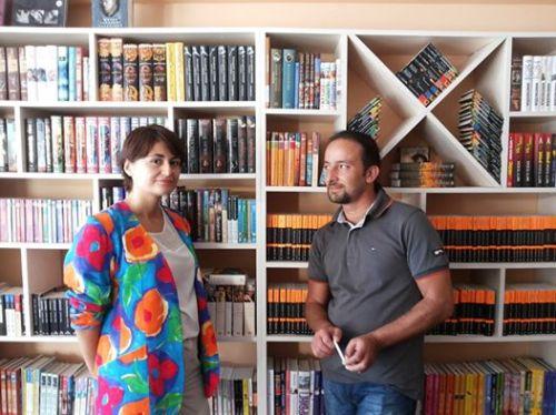 """მარი და ირაკლი - """"წიგნები ბათუმში"""""""