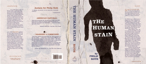 philip roth. human stain cover