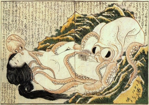 hokusai - The Dream of the Fisherman's Wife