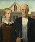 Grant Wood. American Gothic
