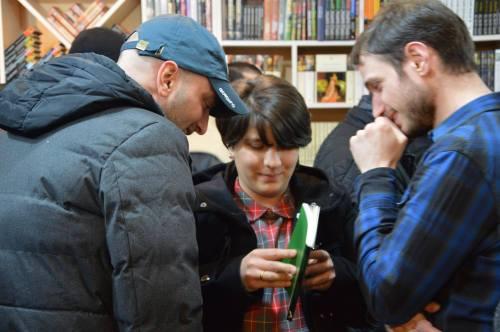 Tengo Barca Katamadze, Natali Chakhvadze და David Baliashvili.  მანანა ქველიაშვილის ფოტო