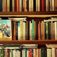 ცეცხლმოკიდებული ძველი წიგნები